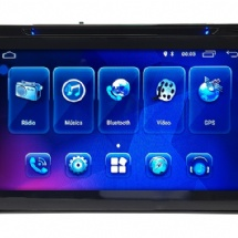 "CENTRAL MULTIMIDIA 8"" COROLLA 2018/ANDROID/USB/TV/BLUETOOTH - 17078"