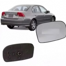 LENTE COM BASE DO RETROVISOR LD CIVIC 01/06 - 4726