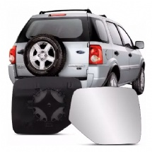LENTE COM BASE DO RETROVISOR LD ECOSPORT 2004/2011/RANGER 2005/2011 - 4724